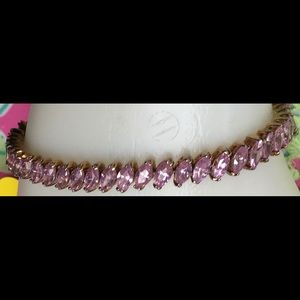 Jewelry - Pink Crystal Tennis Bracelet